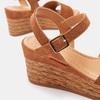 Sandales compensées bata, Brun, 763-4938 - 26