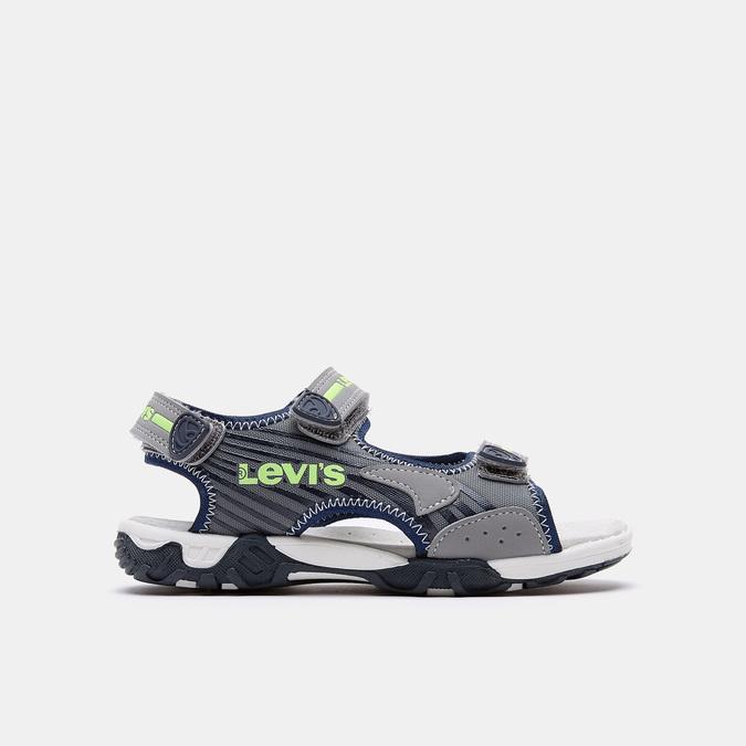 Sandales garçon levis, Gris, 361-2117 - 13