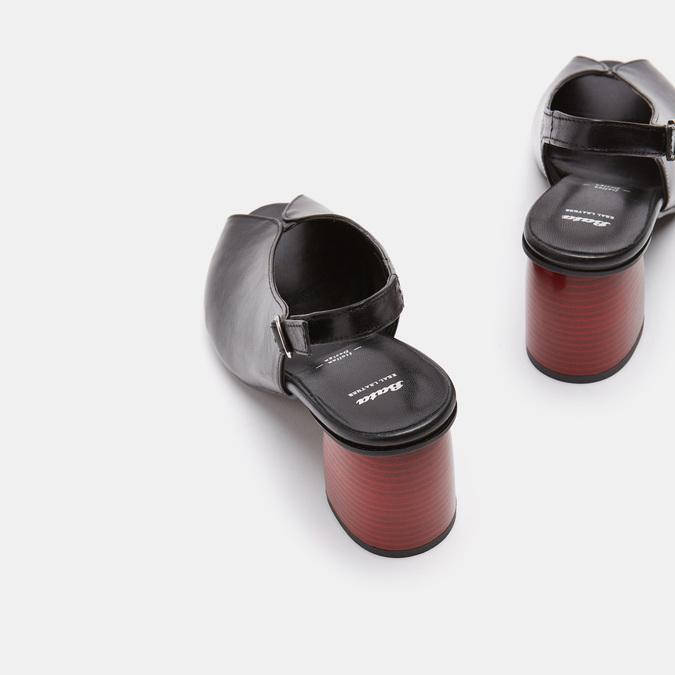Sandales à plateforme bata, Noir, 764-6971 - 15