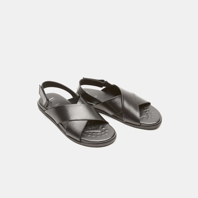 Sandales homme bata, Noir, 864-6280 - 26