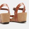 Sandales compensées weinbrenner, Brun, 764-4984 - 15