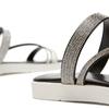 Sandales à bride bata, Noir, 571-6681 - 16