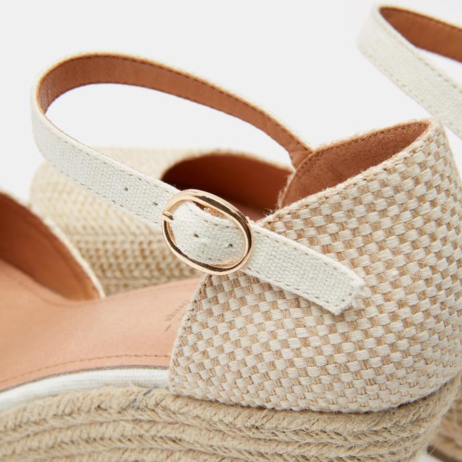 Sandales compensées bata, Or, 769-8953 - 17