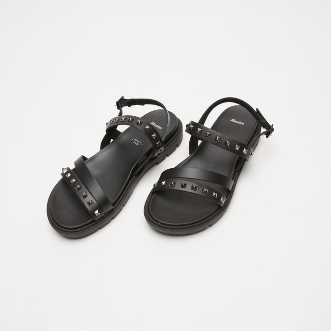 Sandales à bride bata, Noir, 564-6911 - 26