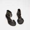 Sandales femme bata, Noir, 561-6804 - 26
