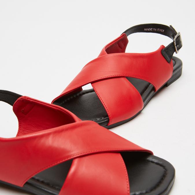 Sandales femme bata-rl, Rouge, 564-5846 - 16
