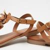 Sandales à bride bata, Brun, 564-3915 - 16