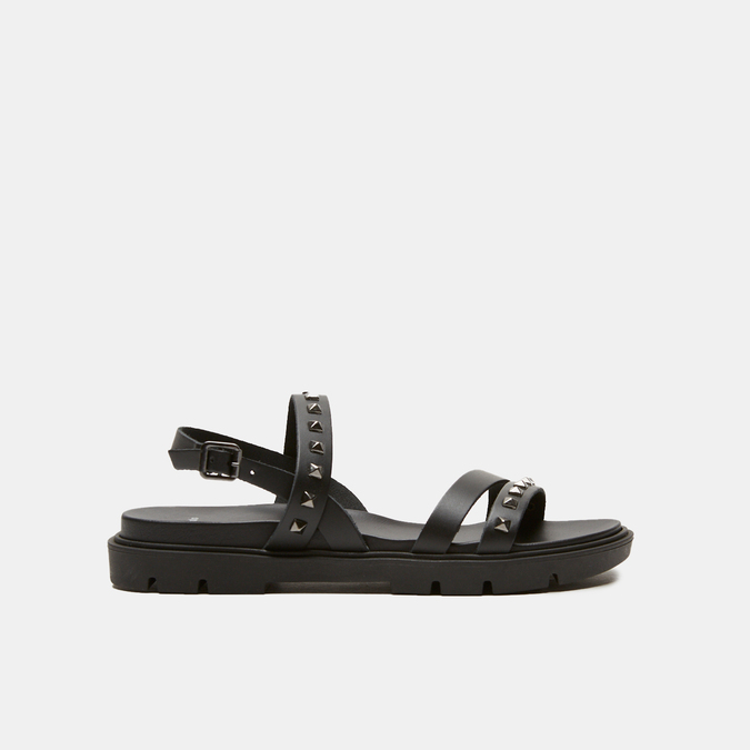 Sandales à bride bata, Noir, 564-6911 - 13