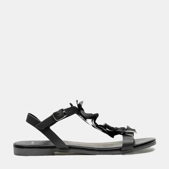 Sandales à bride bata, Noir, 564-6915 - 13