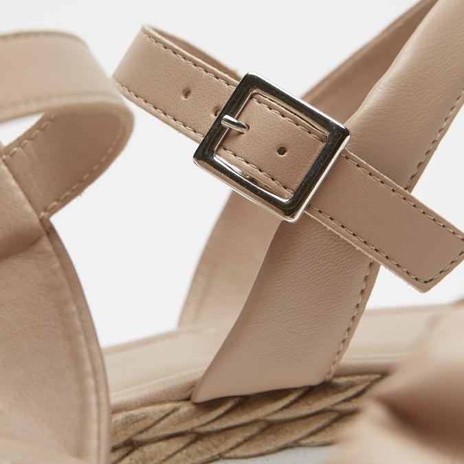 Sandales à plateforme bata, Rose, 761-5289 - 15