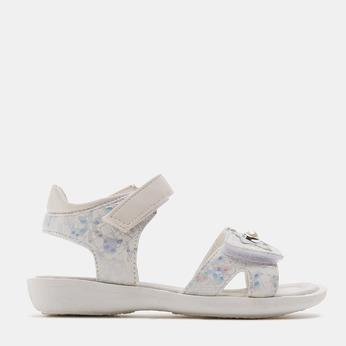 Sandales fille mini-b, Blanc, 261-1268 - 13