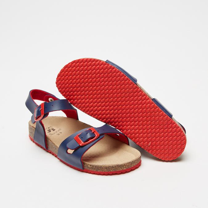 Sandales garçon mini-b, Bleu, 361-9433 - 19