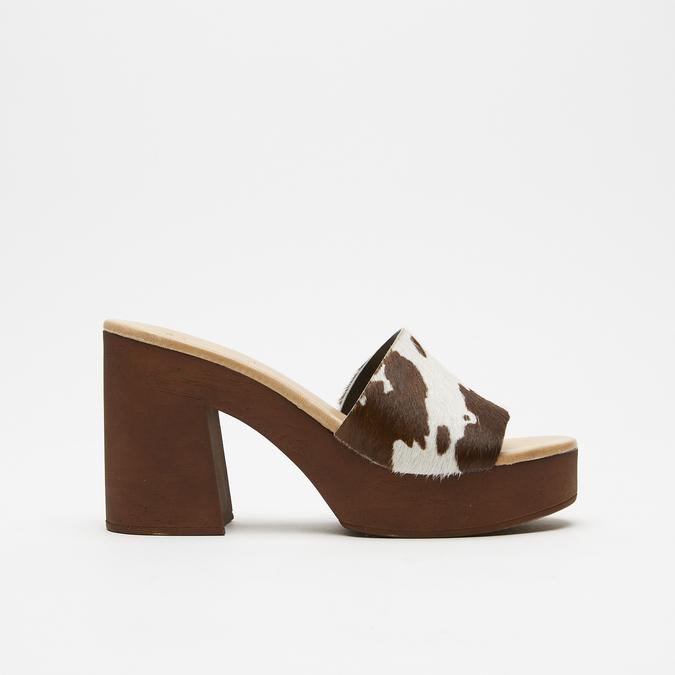 Sandales à plateforme bata, Brun, 764-4177 - 13