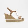 Sandales à plateforme bata, Or, 764-5153 - 13