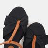 Sandales compensées bata, Noir, 769-6913 - 17