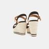 Sandales compensées bata, Noir, 769-6912 - 15