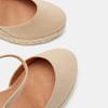 Sandales compensées bata, Beige, 769-8921 - 16