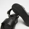 Sandales femme à plateforme bata, Noir, 761-6950 - 19