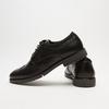chaussures basses brogue en cuir flexible, Noir, 824-6147 - 15