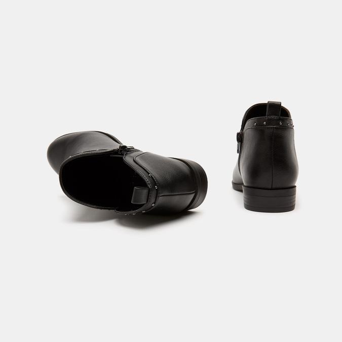 Bottines bata, Noir, 591-6244 - 17