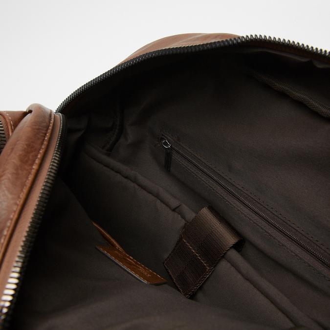 sac à dos à triple fermeture éclair bata, Brun, 961-3367 - 17