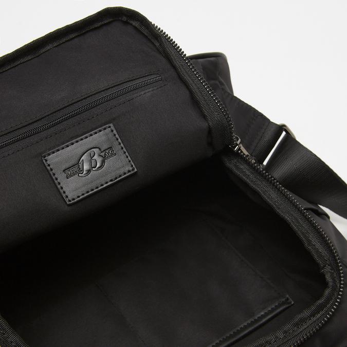 Sac à dos en tissu clouté bata, Noir, 969-6109 - 17