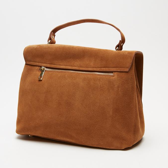 sac à main en suède bata, Brun, 963-3109 - 26