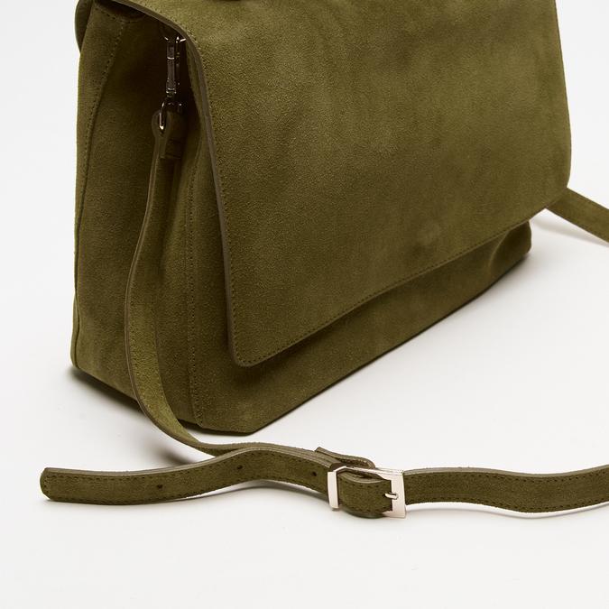 sac à main en suède bata, Vert, 963-7109 - 16