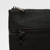 sac à bandoulière à double fermeture éclair bata, Noir, 961-6168 - 26