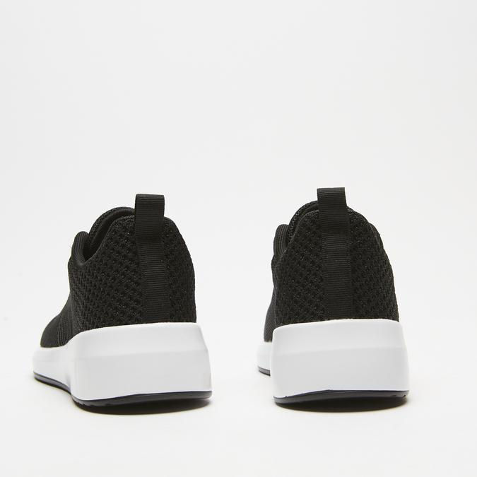 baskets en knit femme bata, Noir, 549-6572 - 17