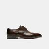 chaussures basses en cuir homme bata, Brun, 824-4376 - 13