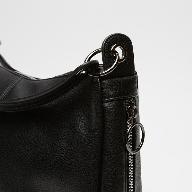 sac hobo clouté bata, Noir, 961-6145 - 16