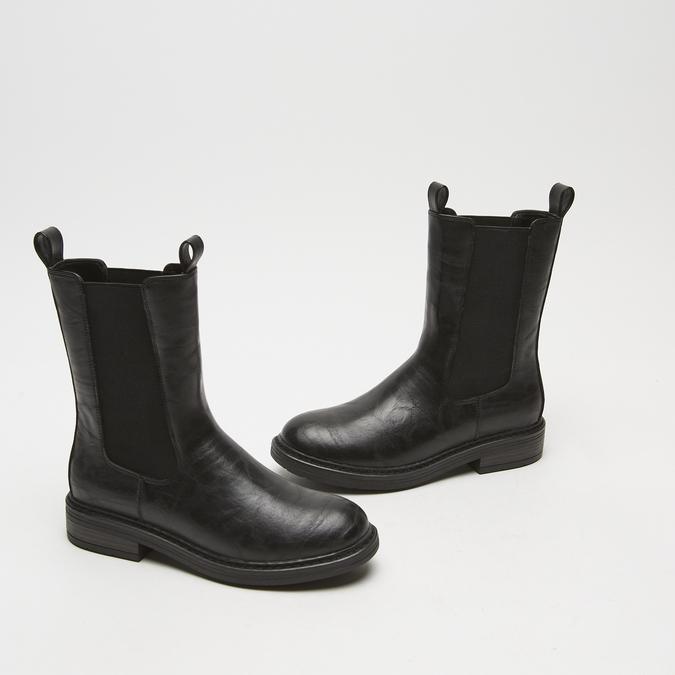 bottes chelsea femme bata, Noir, 591-6473 - 16