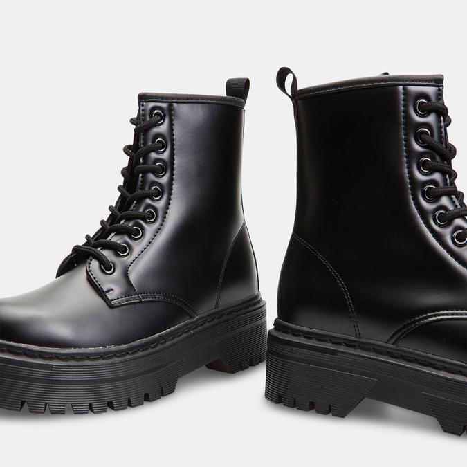 bottines à plateforme femme bata, Noir, 591-6490 - 15