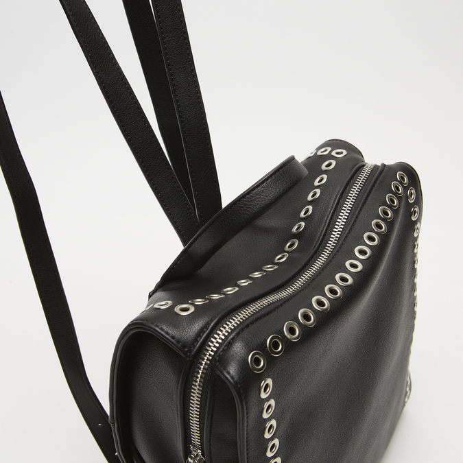 sac à dos clouté femme bata, Noir, 961-6328 - 15