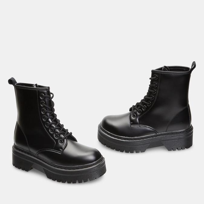 bottines à plateforme femme bata, Noir, 591-6490 - 26