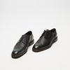 chaussures basses brogue en cuir bugatti, Noir, 824-6250 - 26