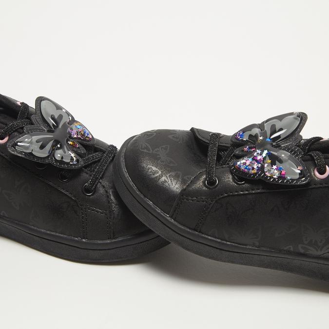 baskets plates fille bata, Noir, 311-6365 - 16