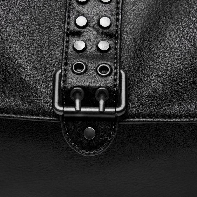 sac à main à détails cloutés bata, Noir, 961-6371 - 26