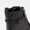 bottines à semelle track et fermeture éclair mini-b, Noir, 391-6288 - 26