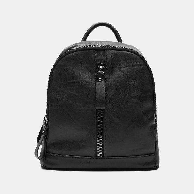 sac à dos à double fermeture éclair bata, Noir, 961-6334 - 13