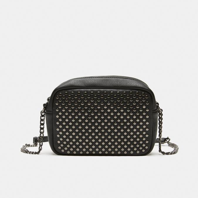 sac à bandoulière clouté bata, Noir, 961-6356 - 13
