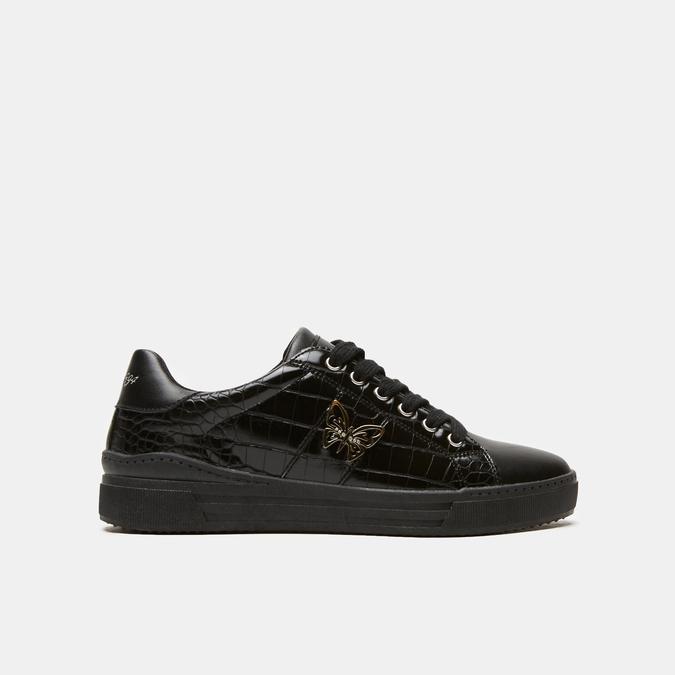 baskets avec imprimé crocodile bata, Noir, 541-6845 - 13
