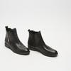 bottines en vrai cuir et à fermeture éclair latérale bata, Noir, 594-6428 - 16