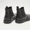 bottines chelsea à piqué brogue flexible, Noir, 894-6138 - 17