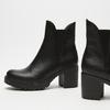 bottines à talons larges bata, Noir, 791-6163 - 16