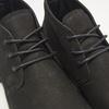 Desert boots en nubuck à semelle effet track bata, Noir, 896-6277 - 15