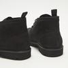 Desert boots en nubuck à semelle effet track bata, Noir, 896-6277 - 17