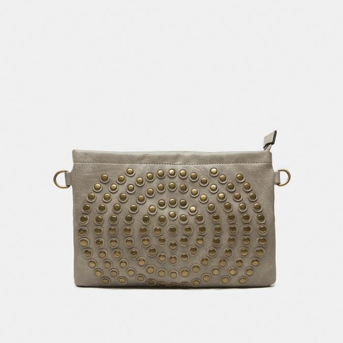 sac clutch clouté bata, Jaune, 961-8476 - 13