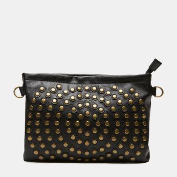 sac clutch clouté bata, Noir, 961-6476 - 13